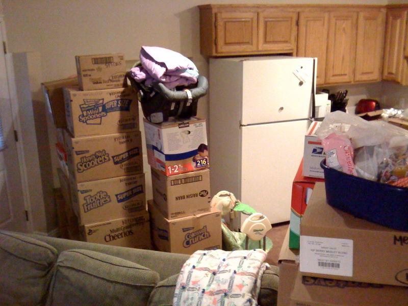 chuyển nhà có nhiều đồ dùng